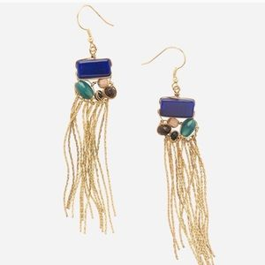 Noonday Collection Monarch Drop Fringe Earrings